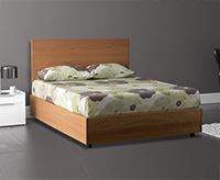 Wood Storage Bed